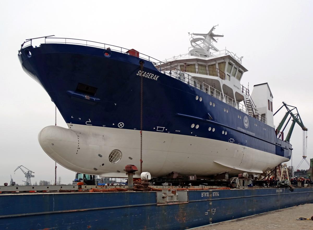 New research vessel Skagerak already afloat