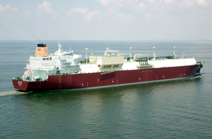 The Al Garrafa tanker was the second one arriving in Świnoujscie with LNG in its tanks. Image: OSG Ship Management