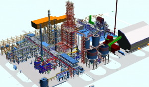 This is how a huge complex of units in the Grupa LOTOS refinery will look like... Fig.: Groupa Lotos