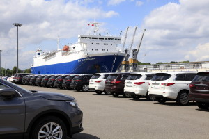 Thanks to new investment up to 6,000 cars will be placed in the storage sites in the Port of Gdansk. Photo: Port of Gdansk