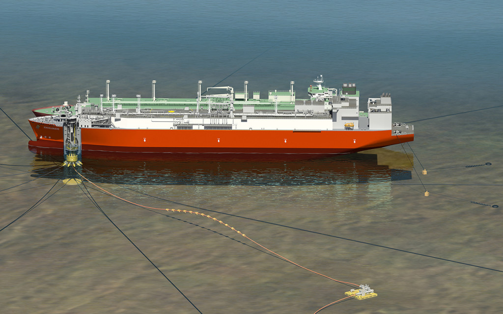 Will we see a similar FSRU based offshore LNG import terminal on the Bay of Gdansk some day?