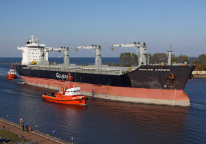 Gdansk Shipyard built Poplar Arrow in Gearbulk livery