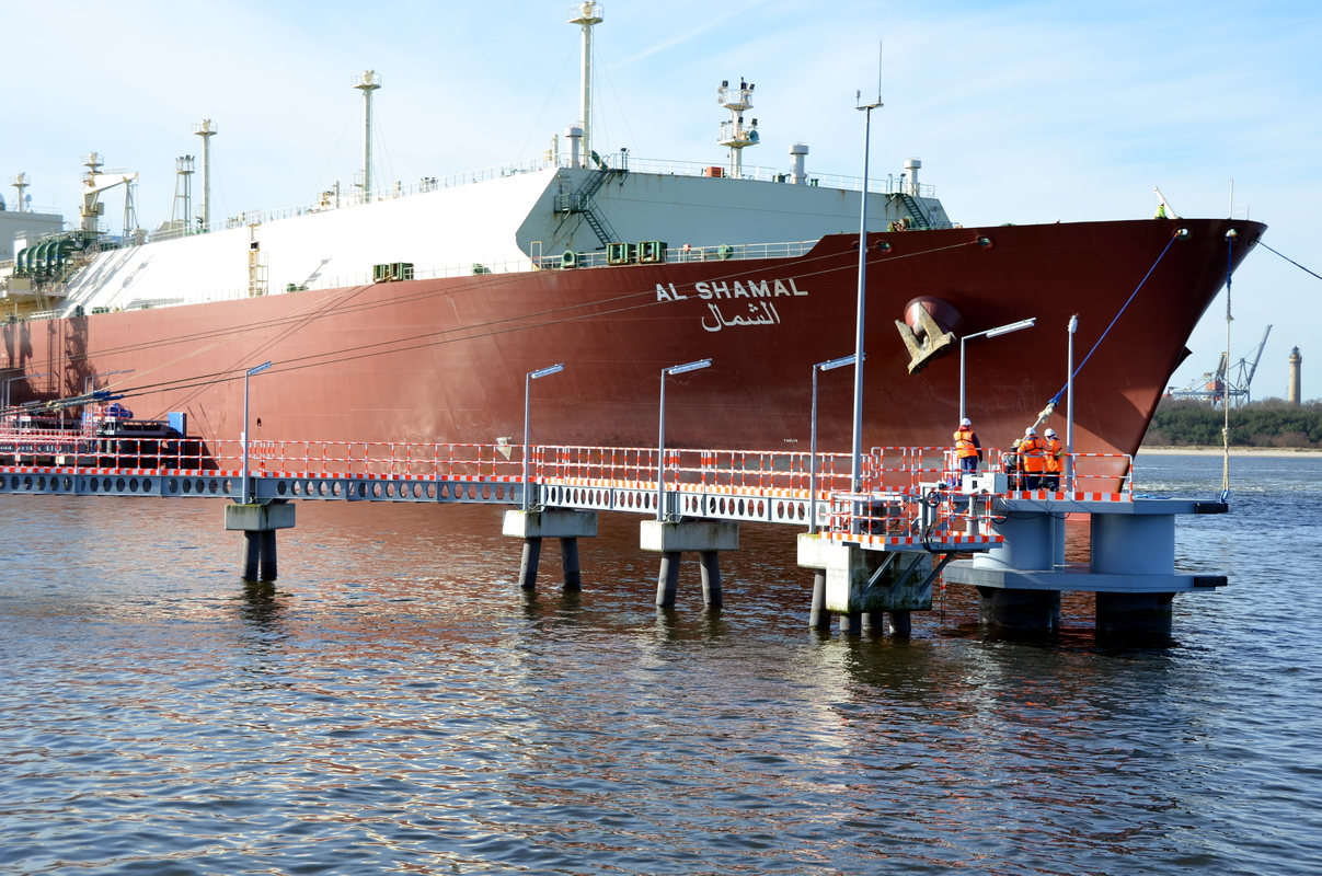 Polish gas terminal supplied with 2,5 million cbm of LNG
