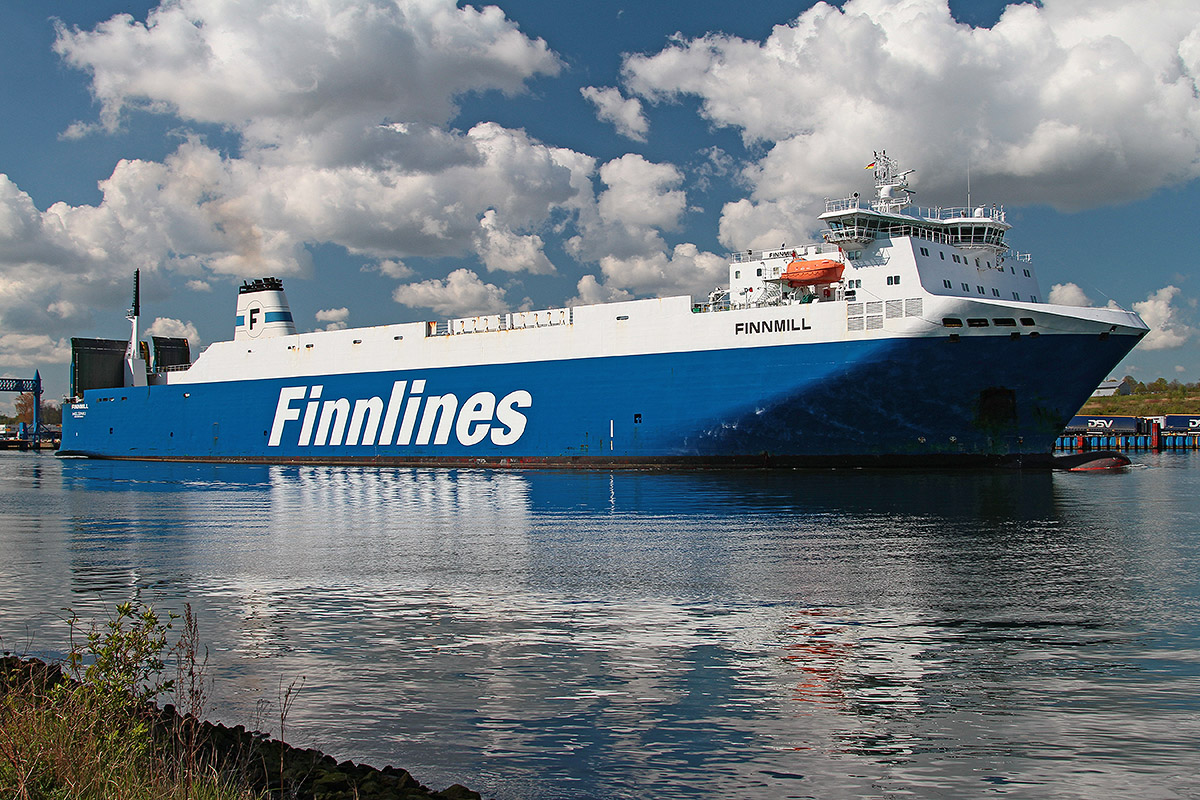 "Finnmill - one of the ""Brise"" class vessels Photo: Piotr B. Stareńczak"