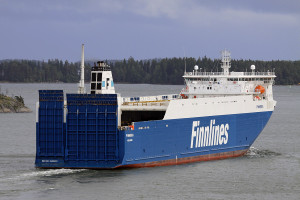 "Finnsea - another example of the ""Breeze"" class ro-ro vessels. Photo: Piotr B. Stareńczak"