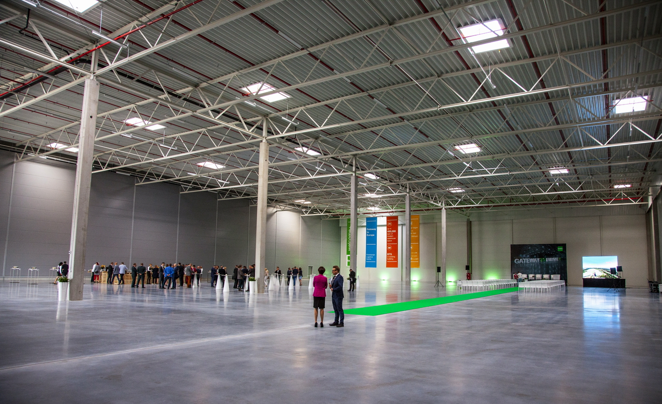 New Goodman's warehouse at the Pomeranian Logistics Centre at the Port of Gdansk. Photo: D. Dulian