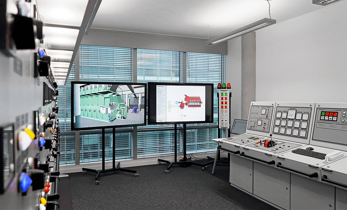 New simulator for Vietnam & New advanced engine room simulator for Vietnam | Poland at Sea