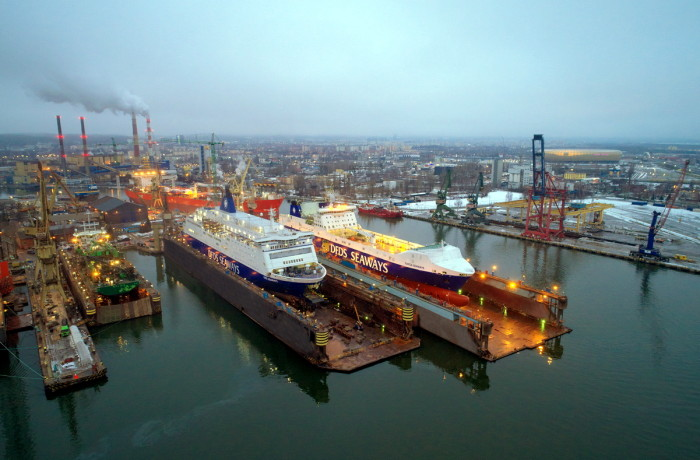 Remontowa Ship Repair Yard SA in Gdańsk in 2017. Photo: courtesy of Remontowa SA