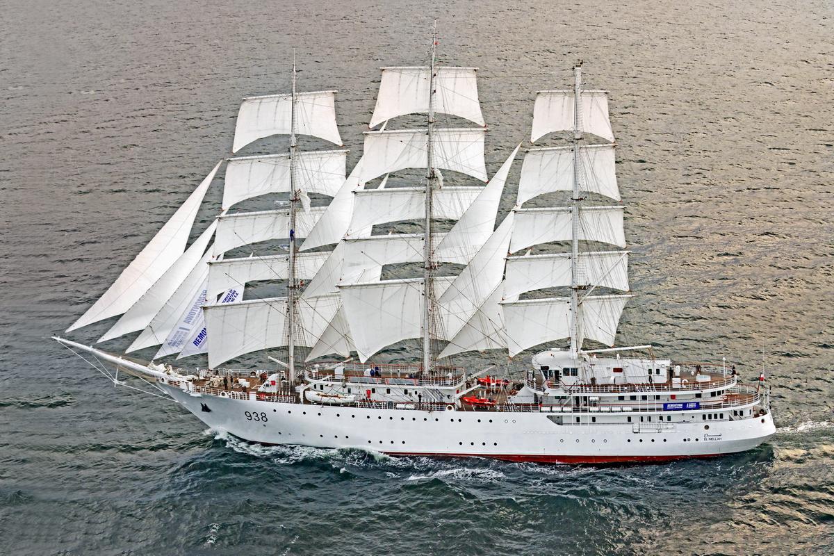 El-Mellah sailing ship begins second set of sea trials ...