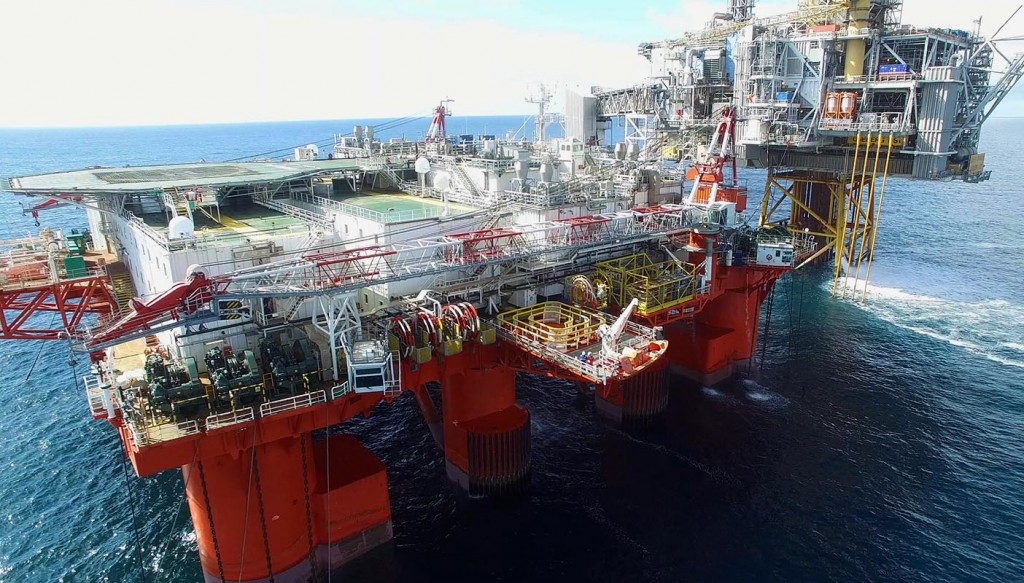 DNV GL has carried out its first offshore drone survey on board the tender support vessel Safe Scandinavia