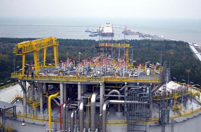 The President Lech Kaczyński LNG Terminal in Świnoujście. Photo: GAZ-SYSTEM
