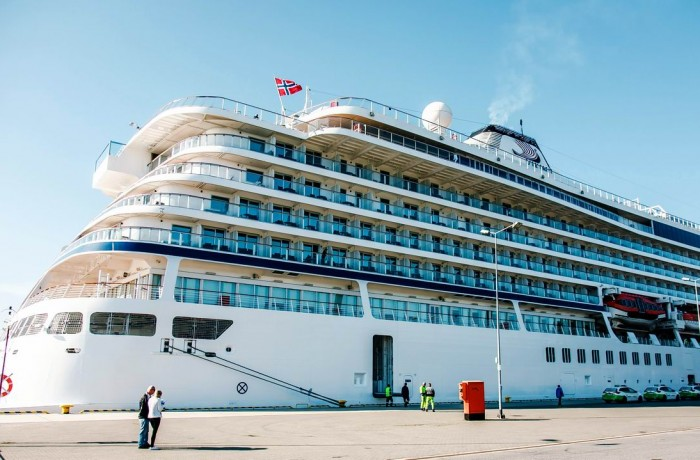 Norwegian Viking Star at the Port of Gdansk. Photo: Port of Gdansk
