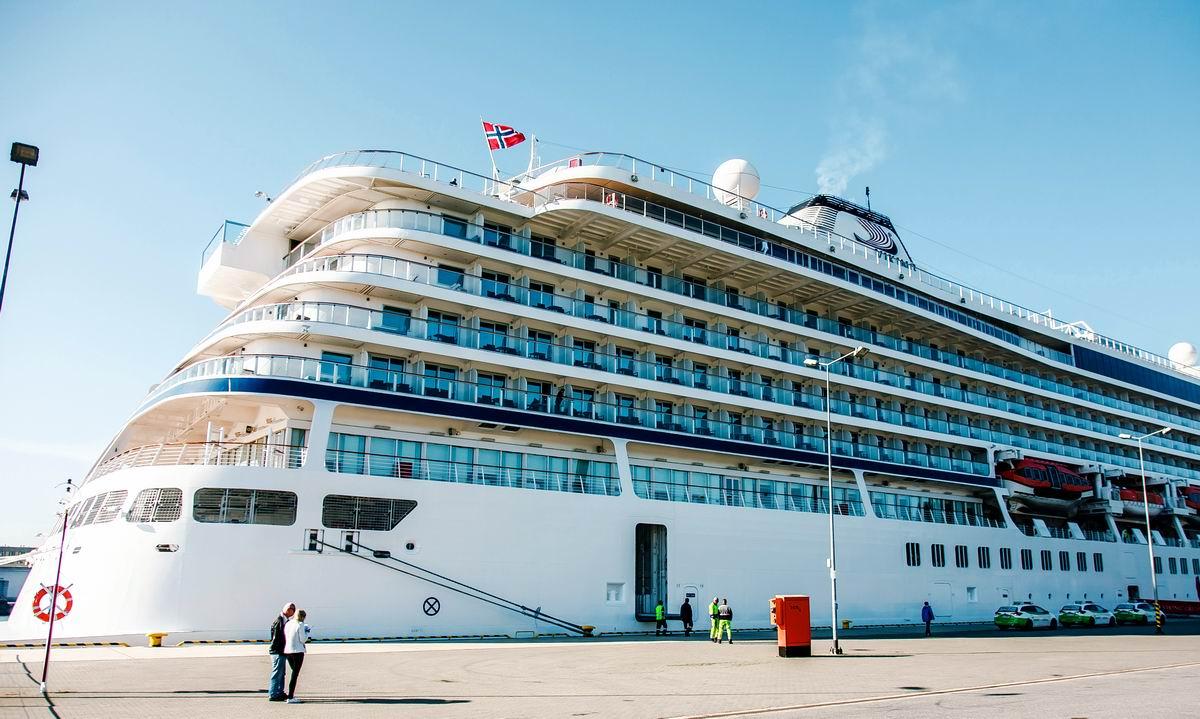 Norwegian Viking Star at the Port of Gdansk. Photo: Port of Gdansk