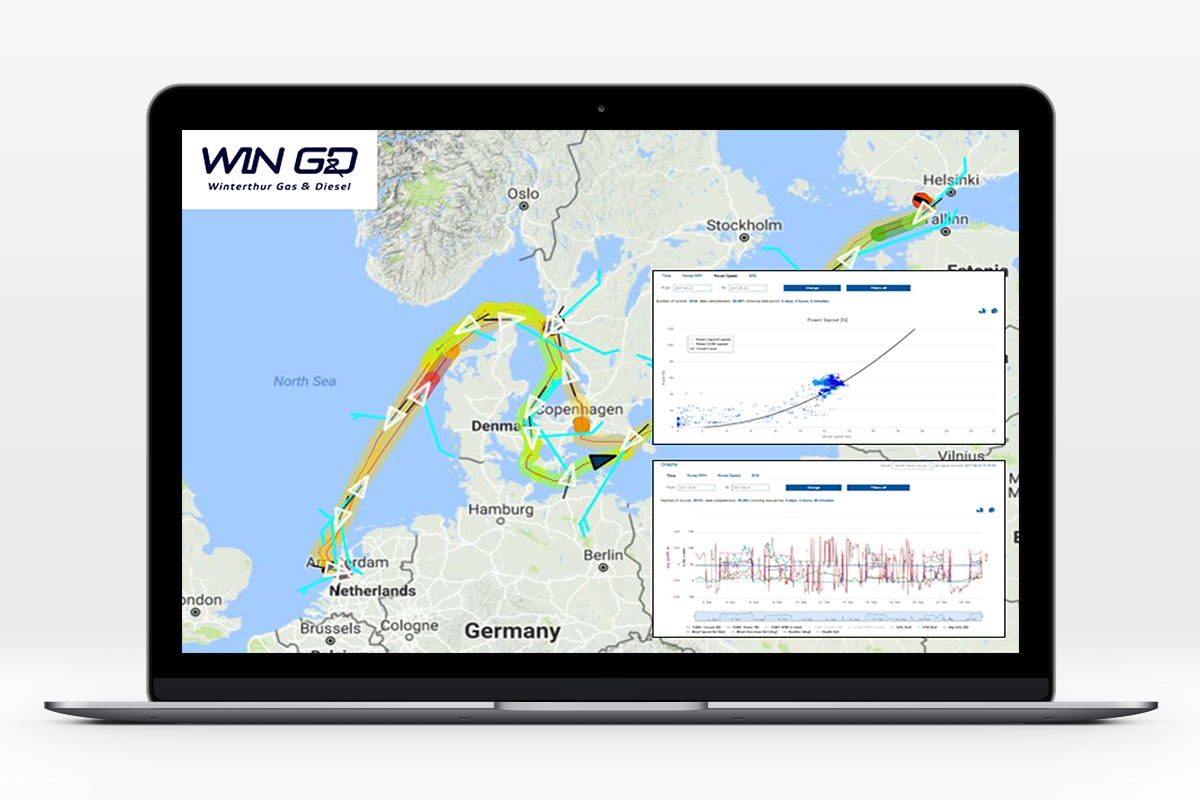 Enamor and WinGD develop advanced data collection and monitoring platform
