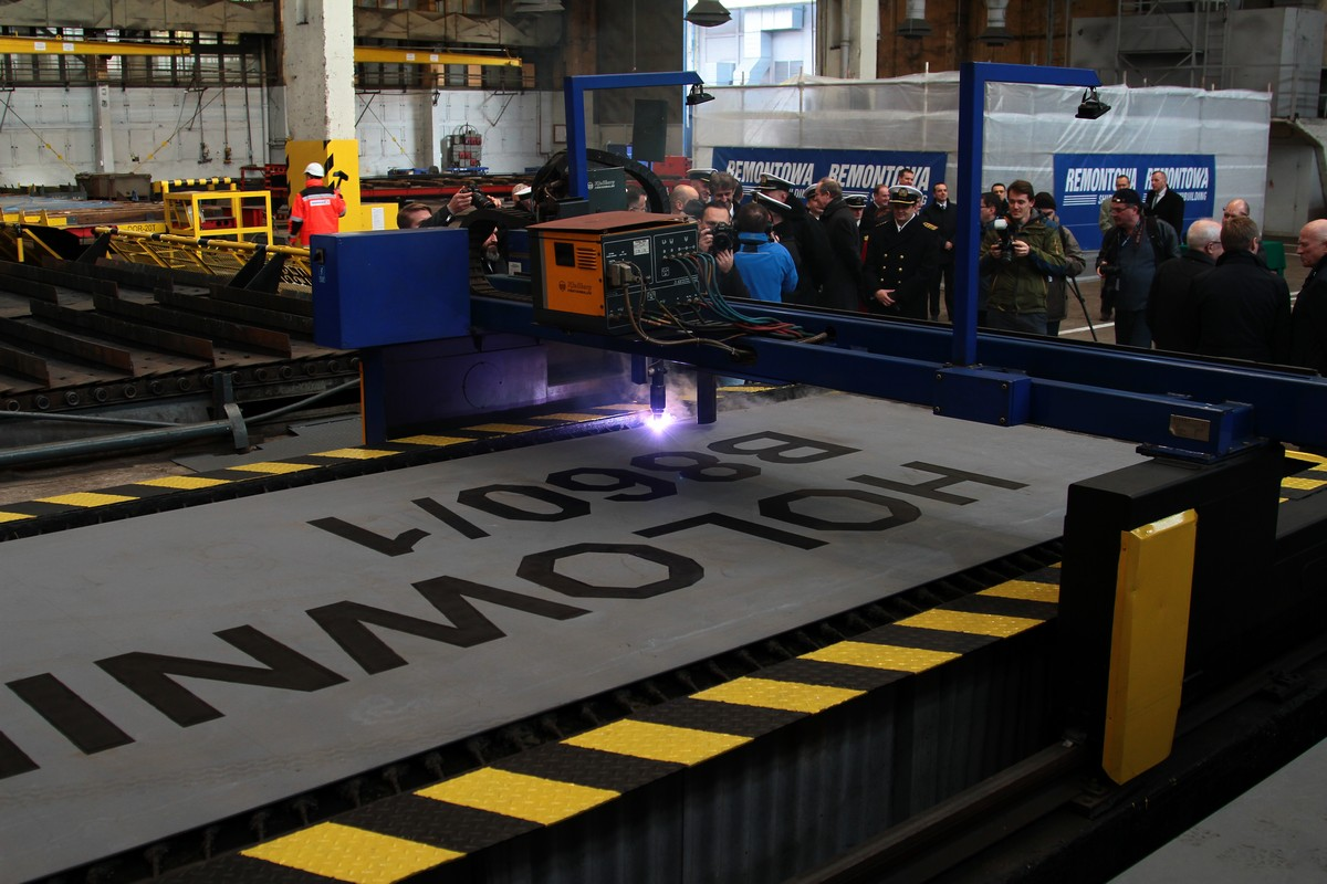 Modern multi-role Polish Navy tugs construction commenced