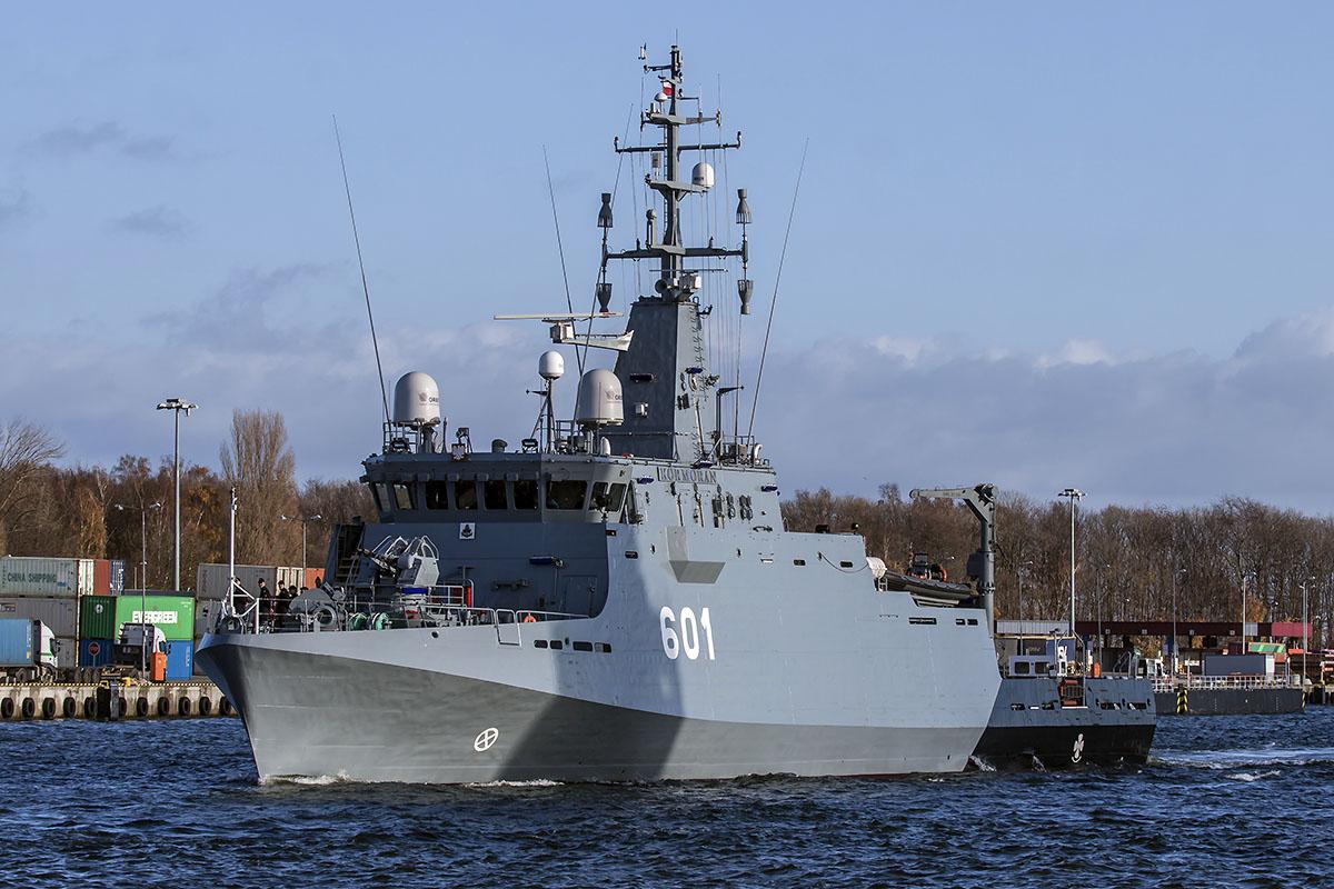 Remontowa Shipbuilding delivered MCMV Kormoran to Polish Navy