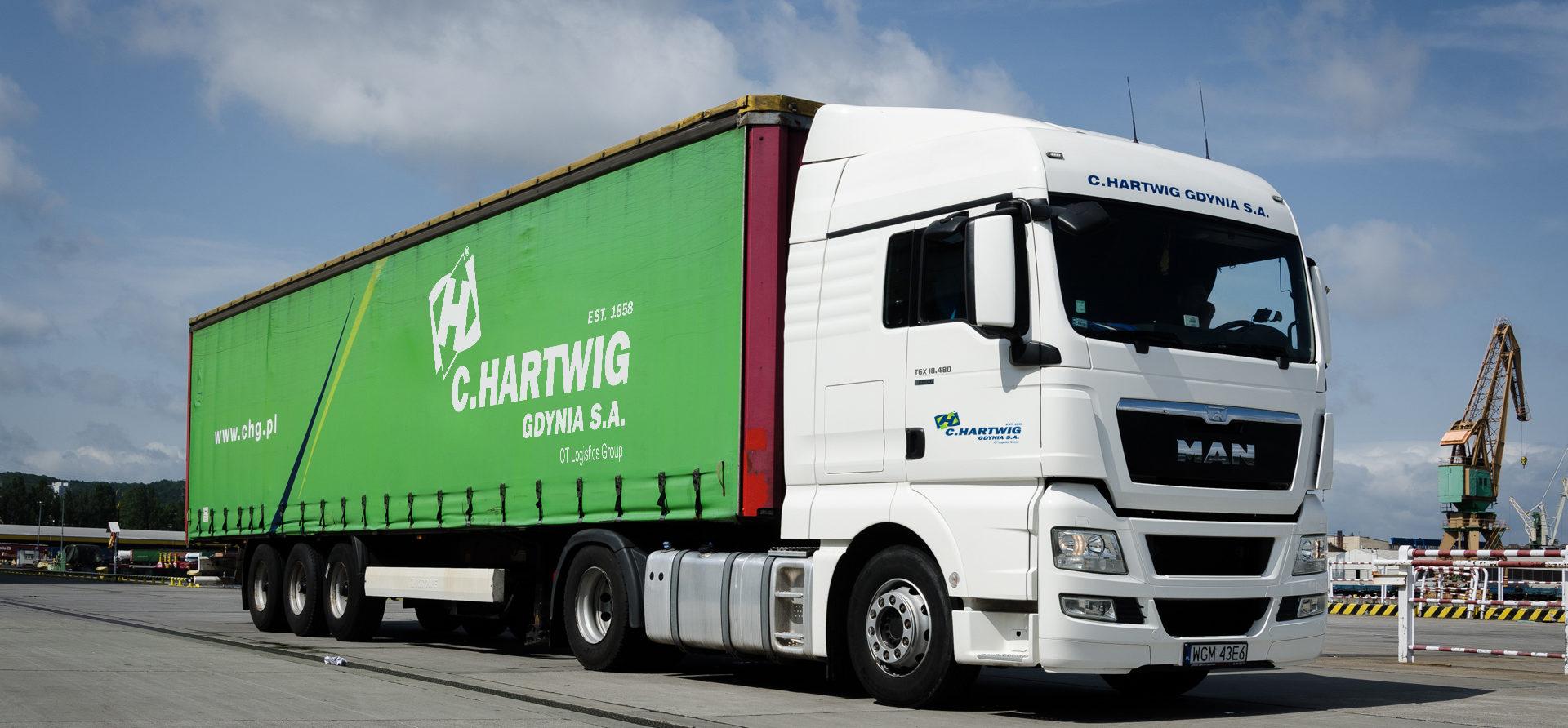 C. Hartwig Gdynia takes over SeaLand Logistics