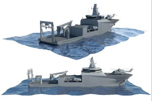 The ''Ratownik'' class submarine rescue and salvage vessel - initial conceptual design visualisation