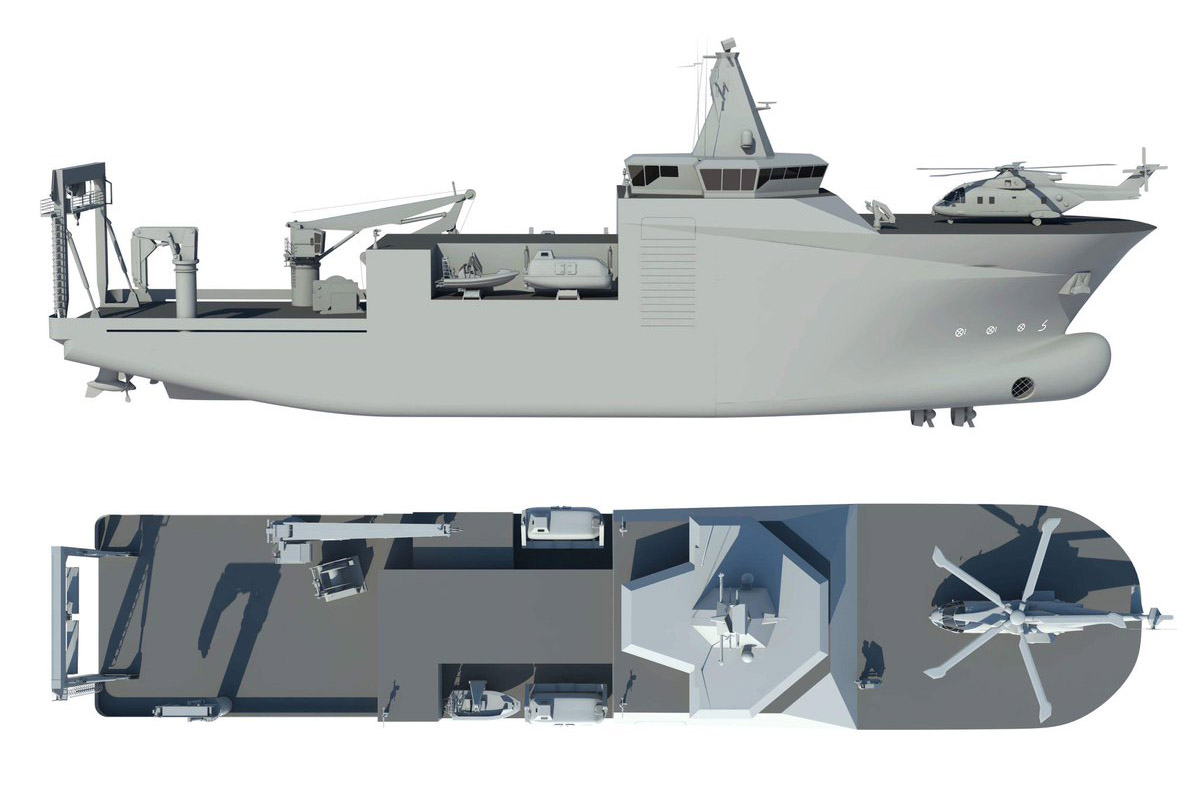 Submarine rescue and salvage vessel for Polish Navy contracted