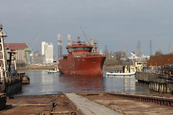 The vessel has been built in Gdańsk for Vaagland Båtbyggeri AS