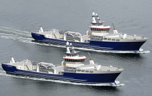The two vessels will be operated by DESS.