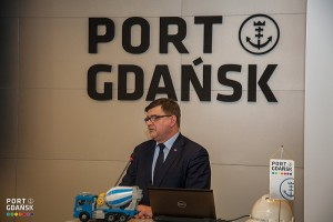 Jerzy Materna, Secretary of State at the Ministry of Maritime Economy and Inland Navigation