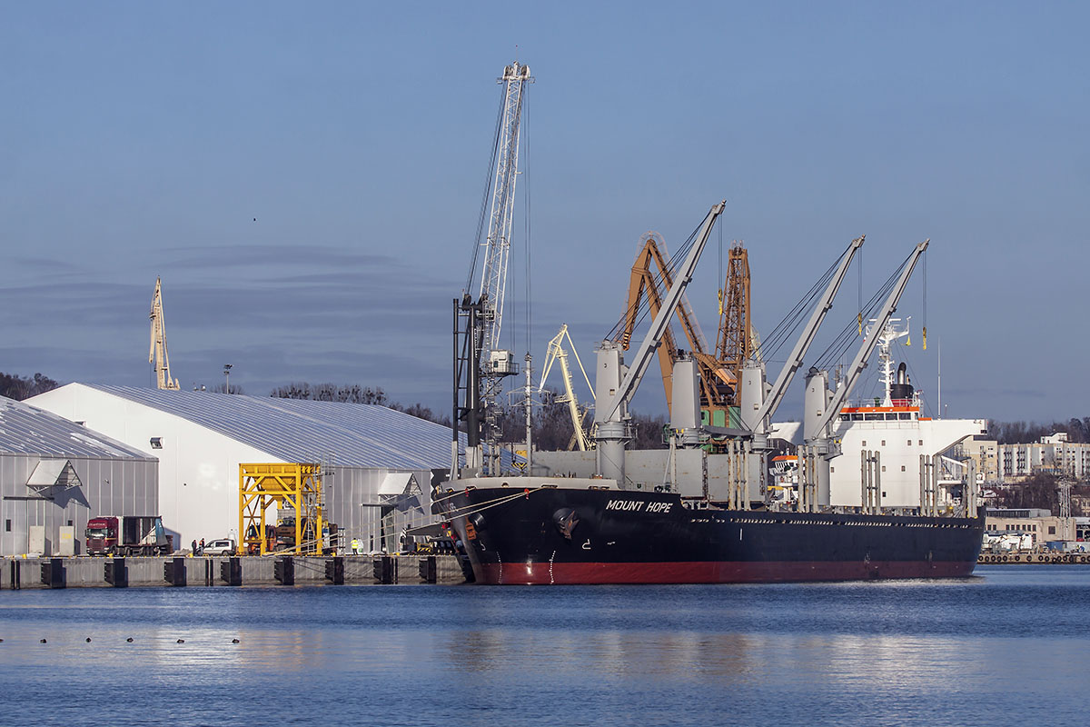 OT Port Gdynia handles the largest ship carrying urea pellets in recent years