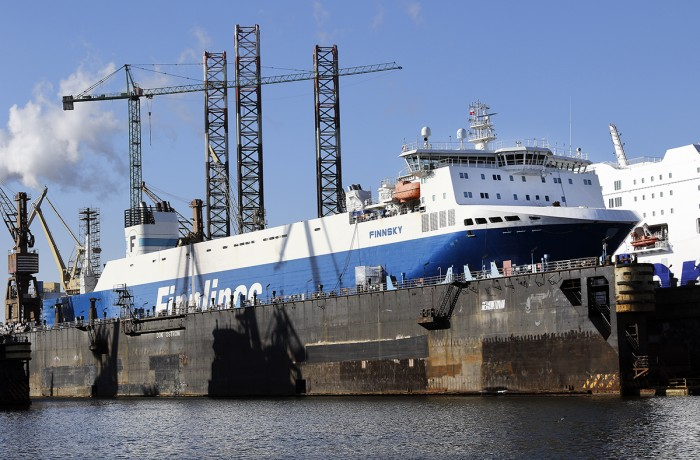 Further Finnlines' vessels to be lengthened at Remontowa SA