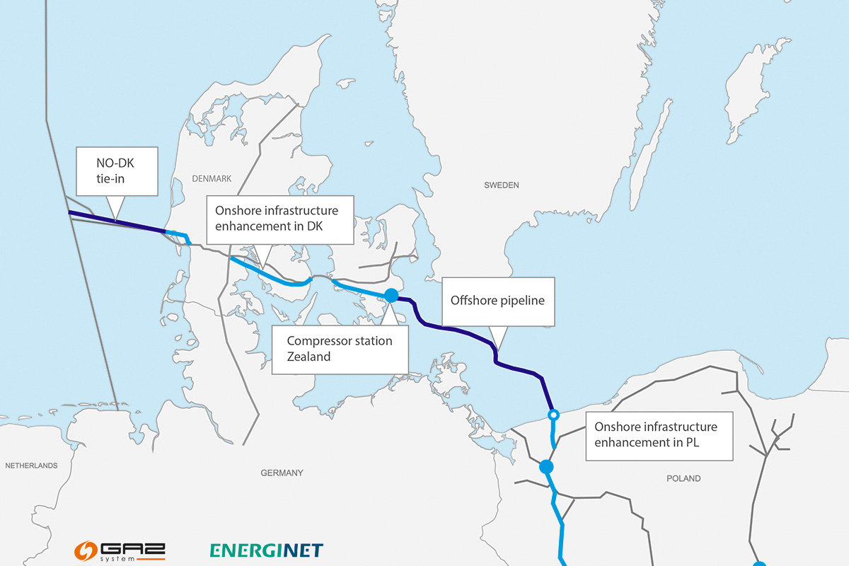 SEA secures owner's engineering for Baltic Pipe