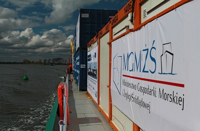 Inland navigation promotion. Photo: Piotr B. Stareńczak