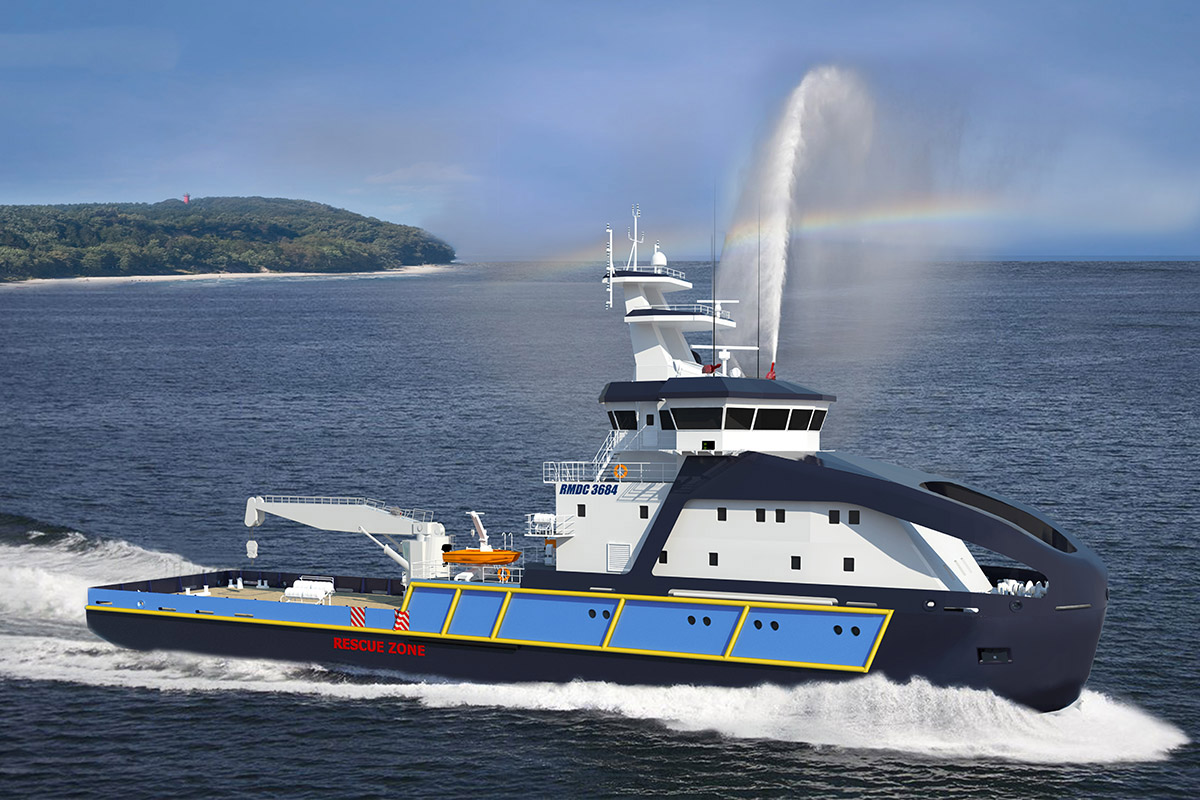 Order for two Maritime Authorities' multipurpose buoy tender vessels placed at Remontowa Shipbuilding SA