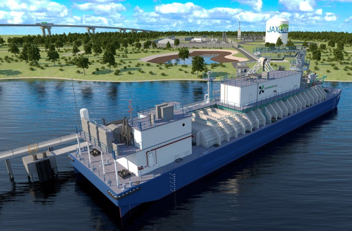 Jacksonville LNG bunkering facility