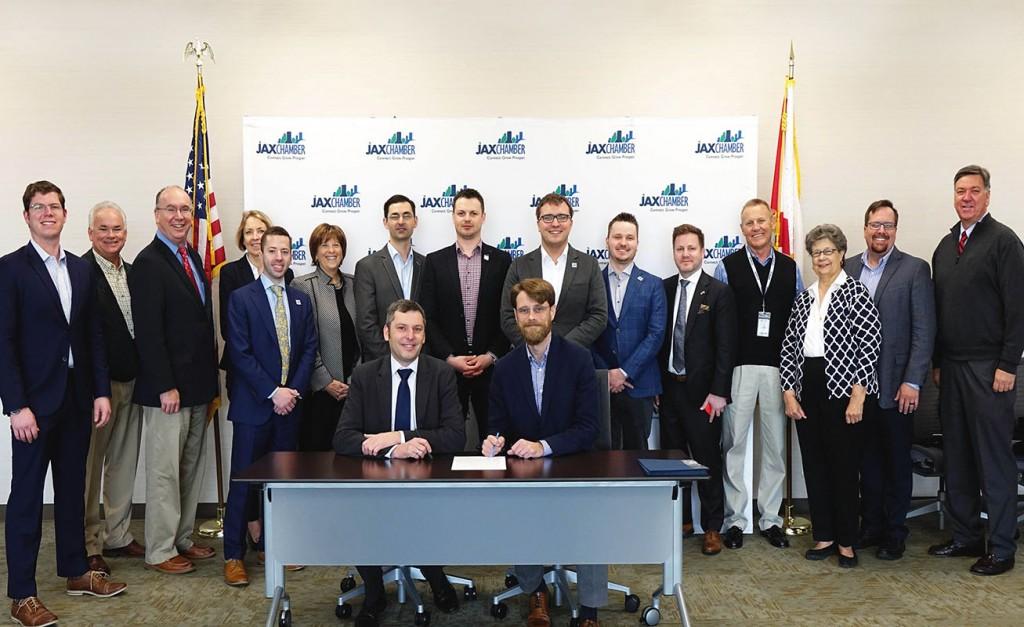 JAX Chamber - Polskie LNG SA declaration signing. Photo: JAX Chamber.