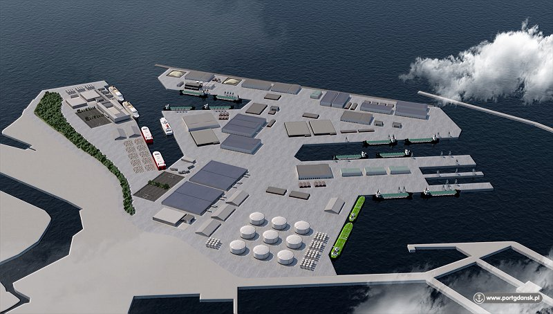 The Central Port in Gdansk soon to become reality