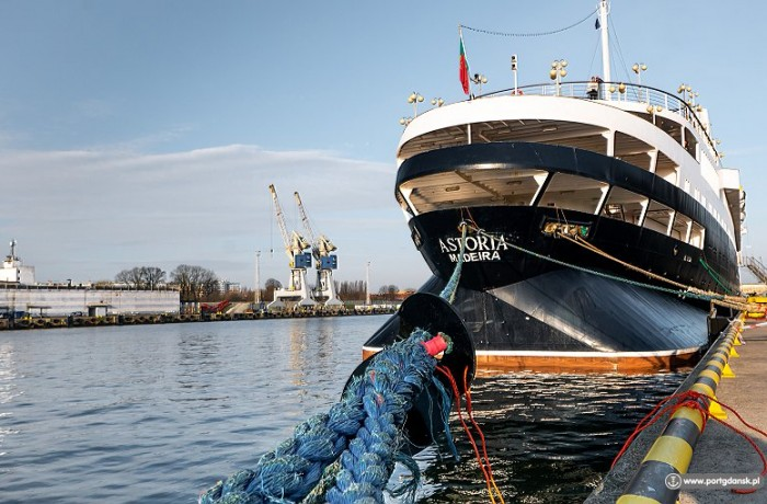 Astoria inaugurated the cruise season at the Port of Gdansk (Photo credit: Port of Gdansk Authority SA)