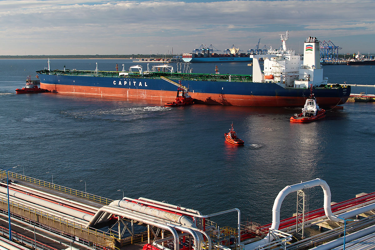 Record breaking cargo volumes in Polish ports in 2017