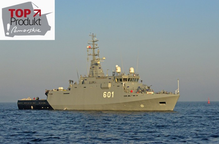 ORP Kormoran is the first in a series of three modern minehunters