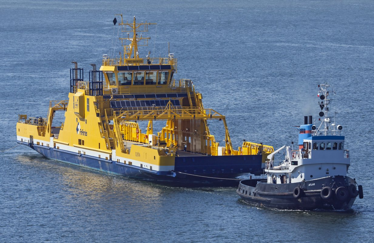 """Elektra – ferry built in Poland with the """"Ship of the Year"""" title"""