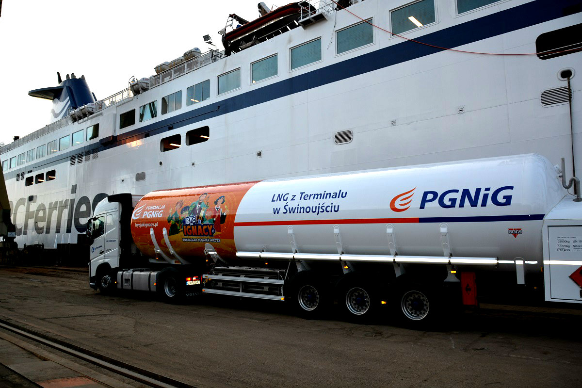 Lotos and PGNiG will develop the LNG supply market on the Baltic Sea