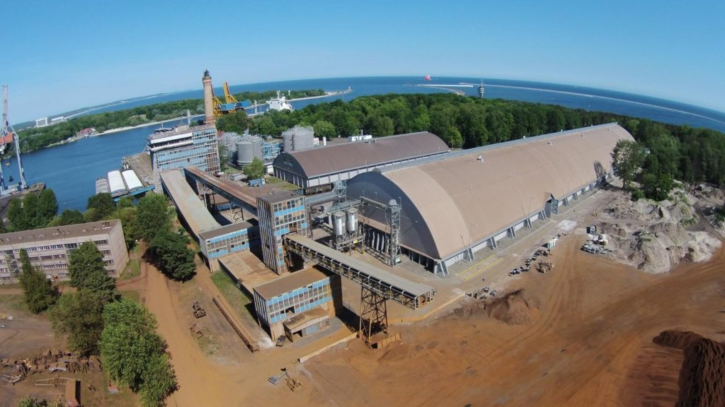 New agricultural warehouse of OT Port Świnoujście