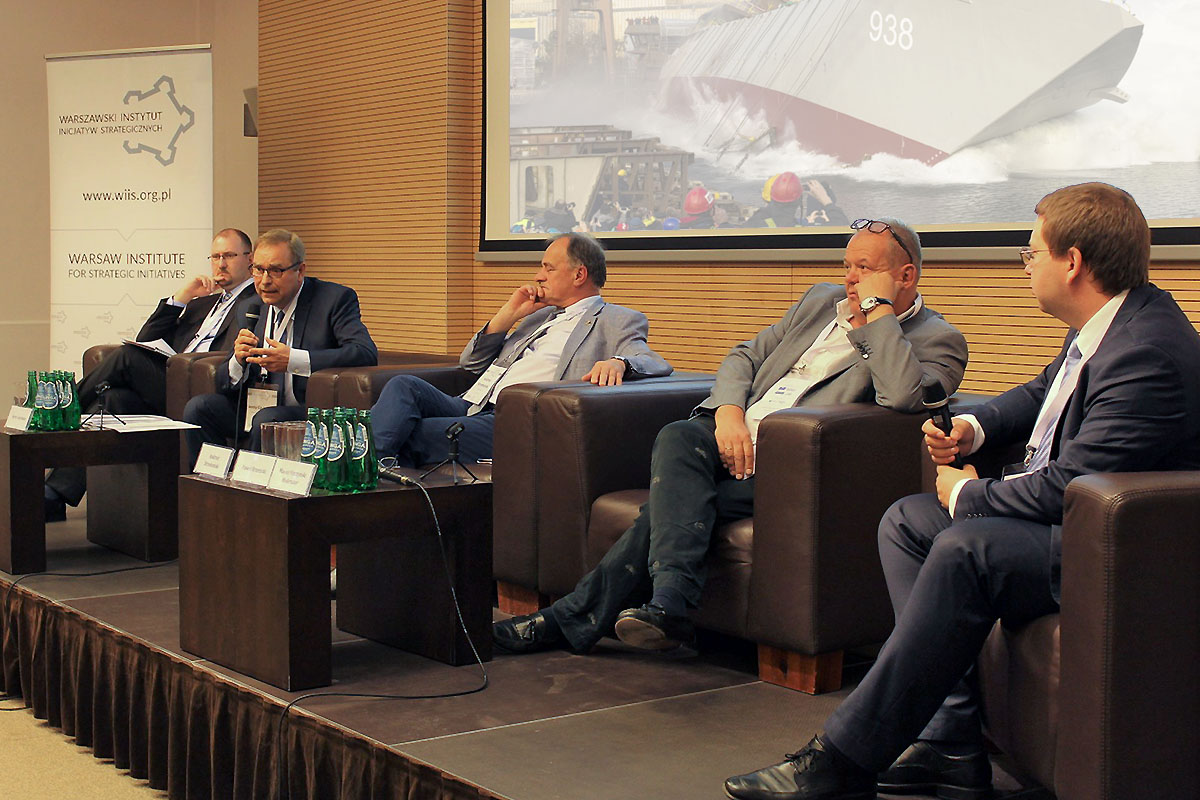 """Summary of the """"Polish Shipbuilding Industry– Between Security and Economic Development"""" conference"""