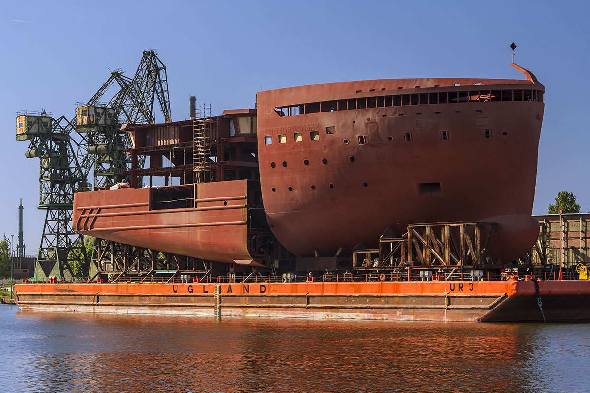 Another set of polar expedition cruise vessel structures delivered from Montex