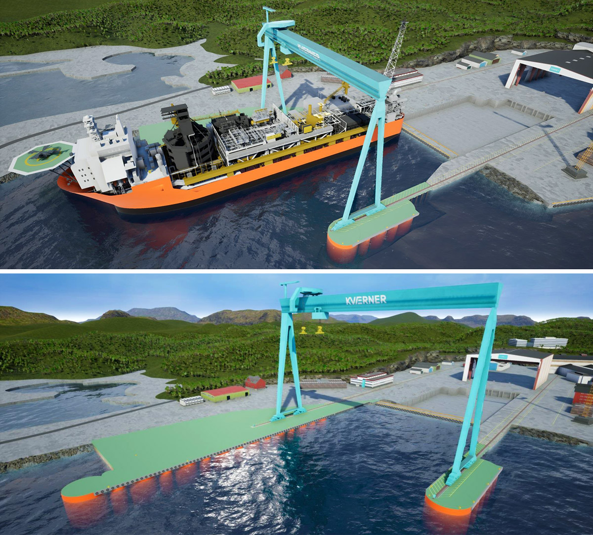 Topside modules for the Johan Castberg project to be