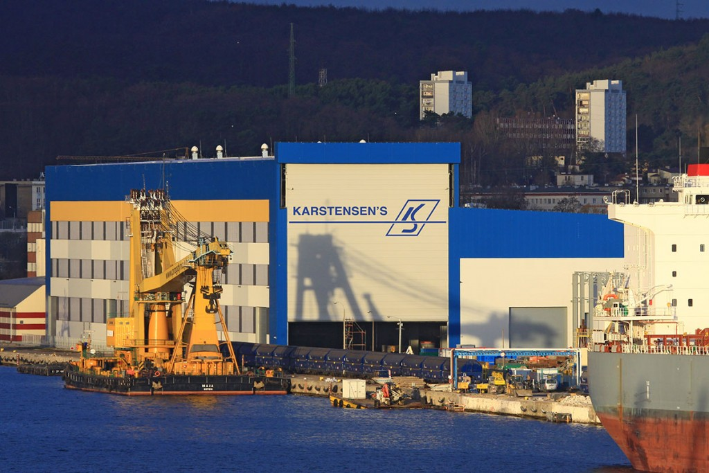 In the production halls built by Vistal, the hulls of ships will be built by Karstensen (Photo: Piotr B. Stareńczak)