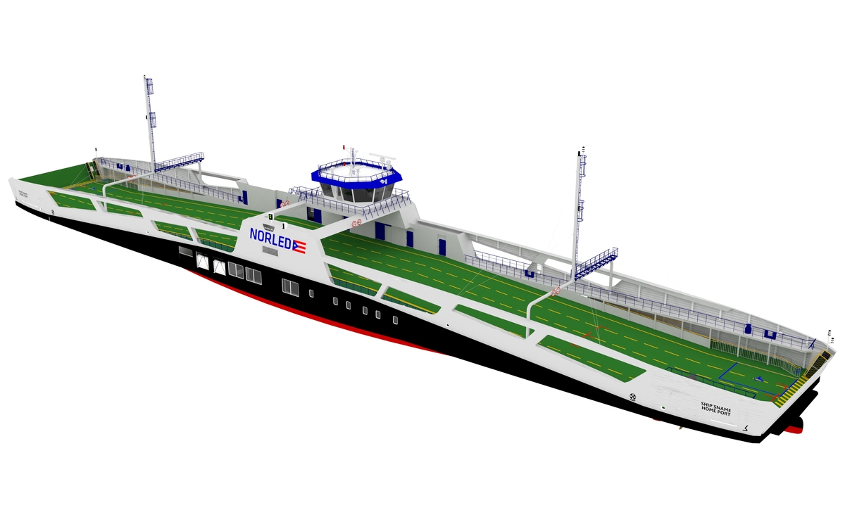 Remontowa Shipbuilding to build four vessels for Norled