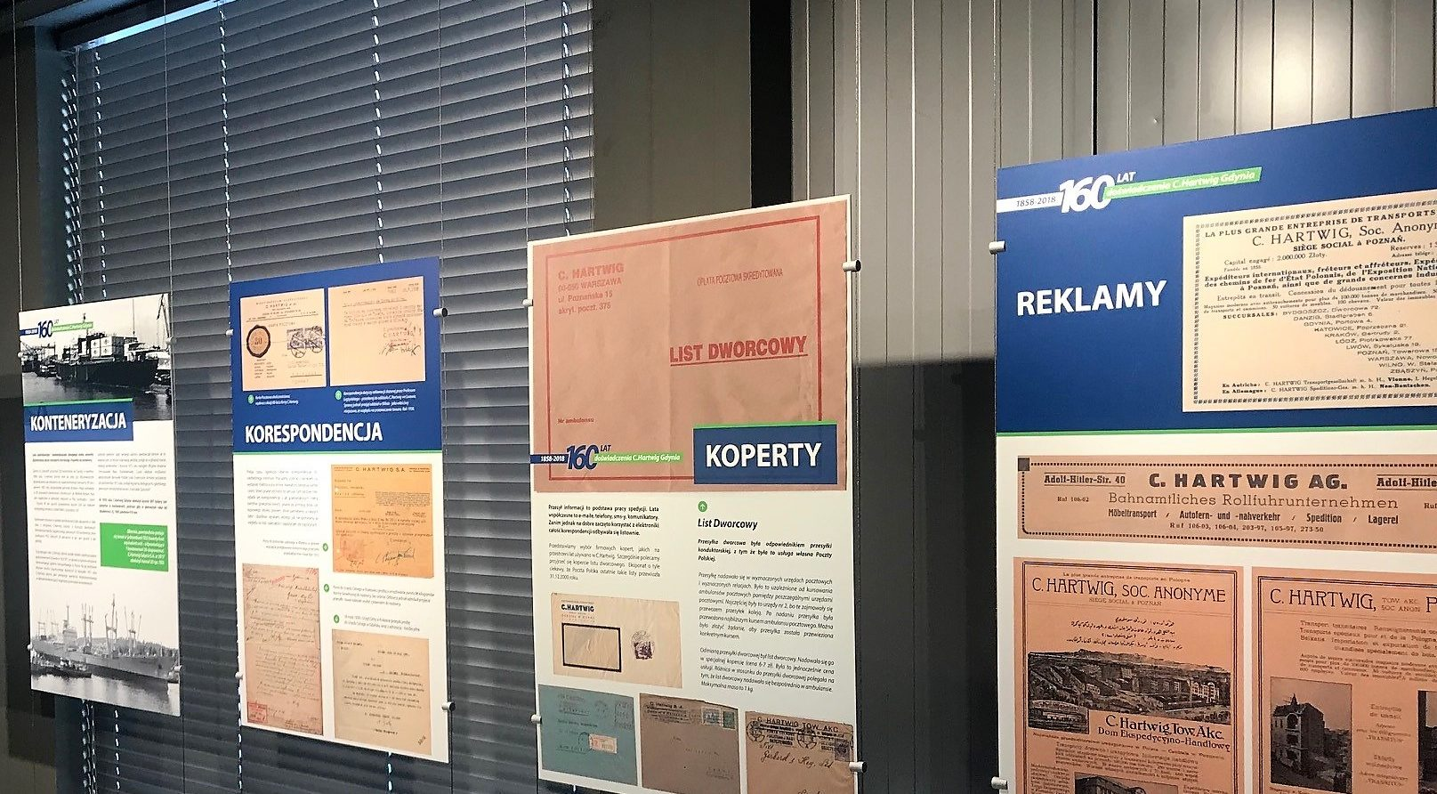 About forwarding and transport in InfoBox – 160 years of C.Hartwig Gdynia