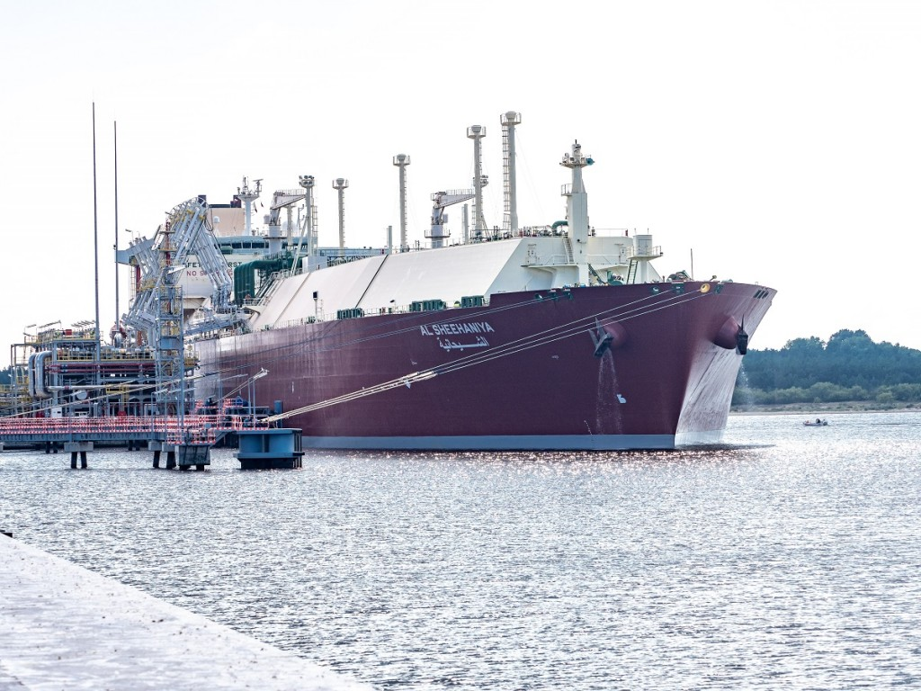 The vessel delivering the 40th LNG cargo to Swinoujscie LNG Terminal