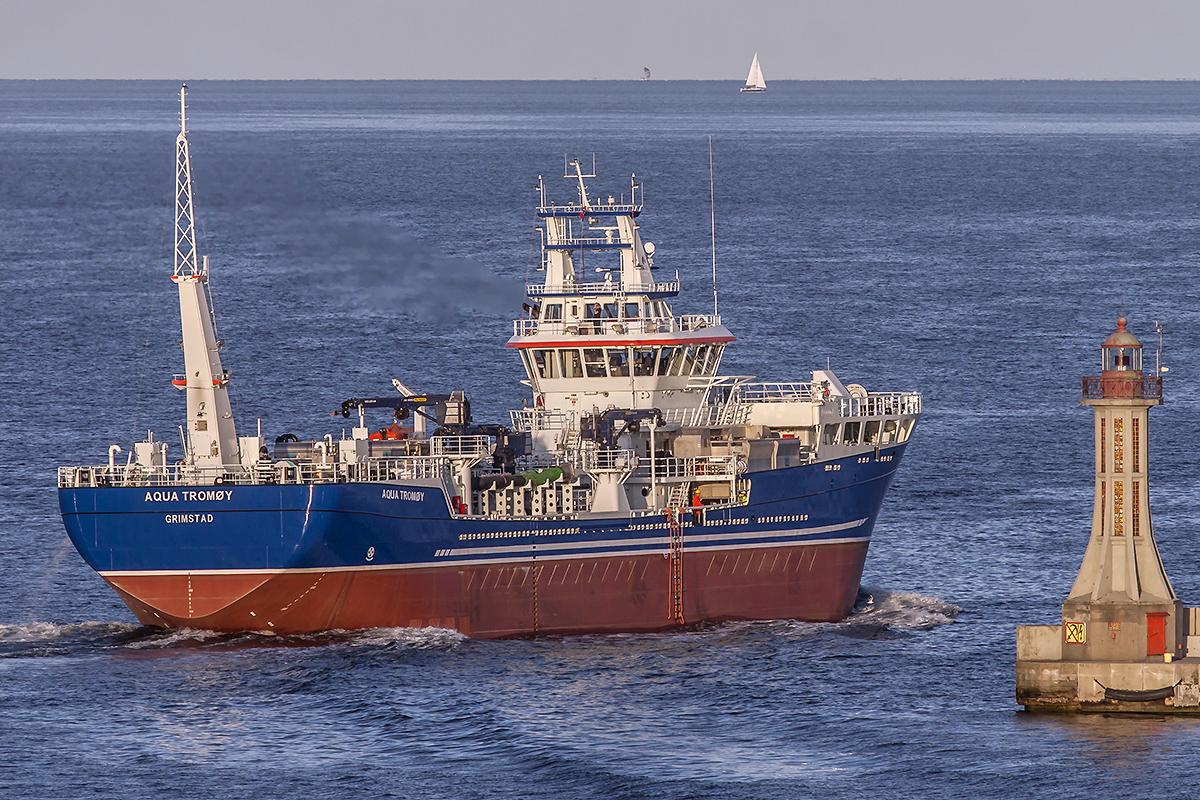 Live fish carrier Aqua Tromøydelivered from Crist yard