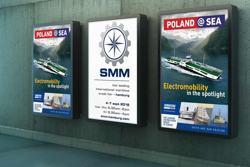 ''Poland at Sea'' a good guide to Polish maritime industry during SMM 2018