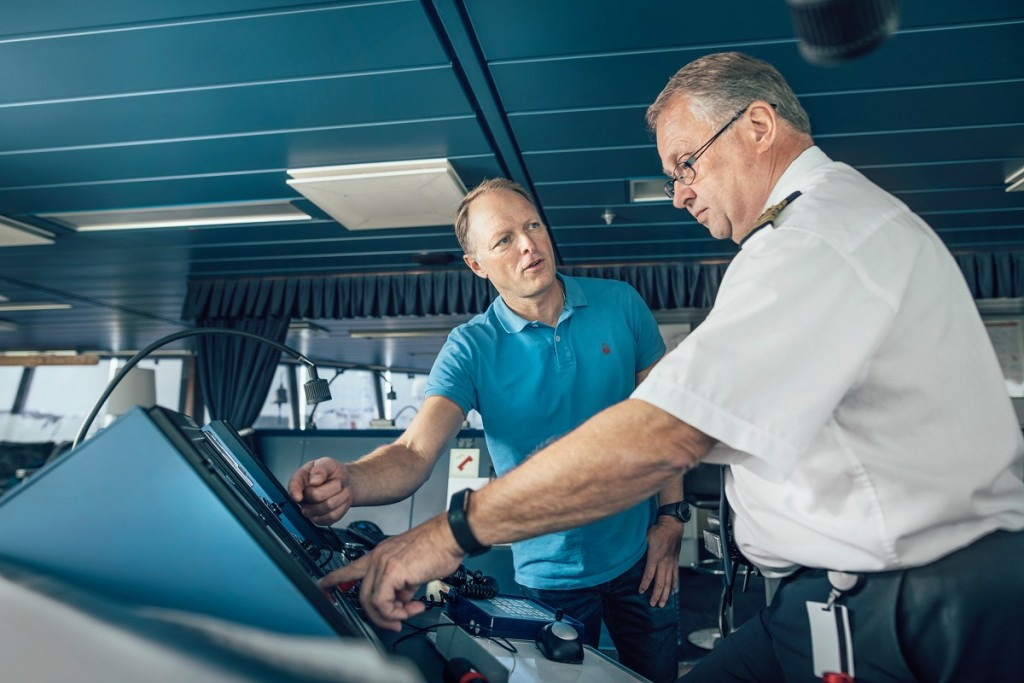 Stena Line introduces first AI-assisted vessel: As a central part of Stena Line's efforts to reduce fuel consumption and minimise environmental impact, the company is now running a pilot study using artificial intelligence technology on board vessels (Photo credit: Stena Line)